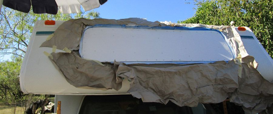 1995 Coachmen Cab And Front Window Dry Rot David S