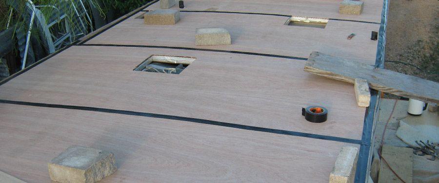 Class C Rv Roof Replacement Original Repairs Done