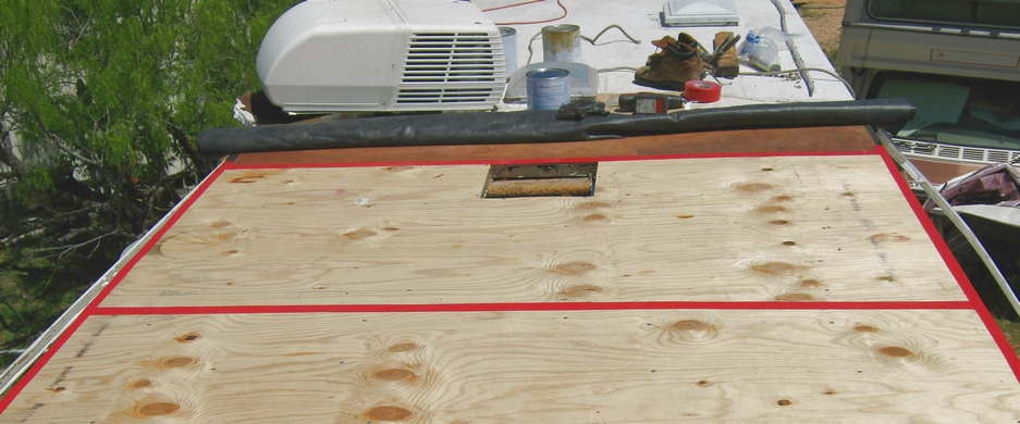 rv roof repair done incorrectly caused serious wood rot and damage