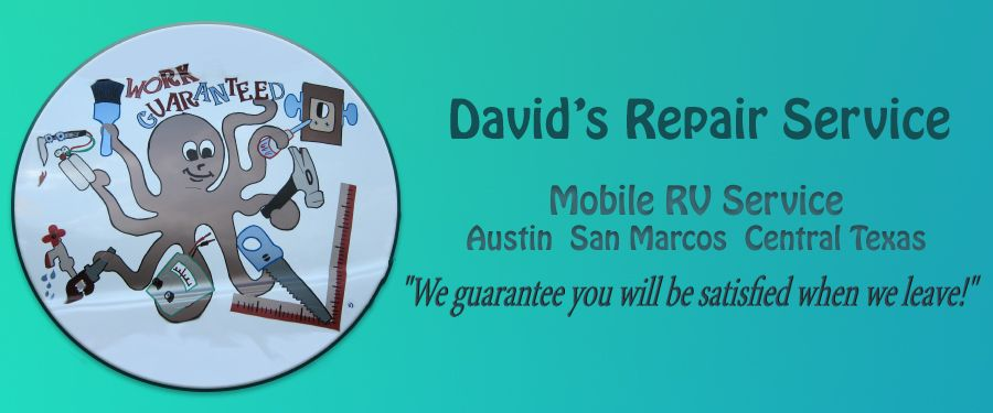 Mobile RV Repair - Roof Reseal / Replace | David's Repair